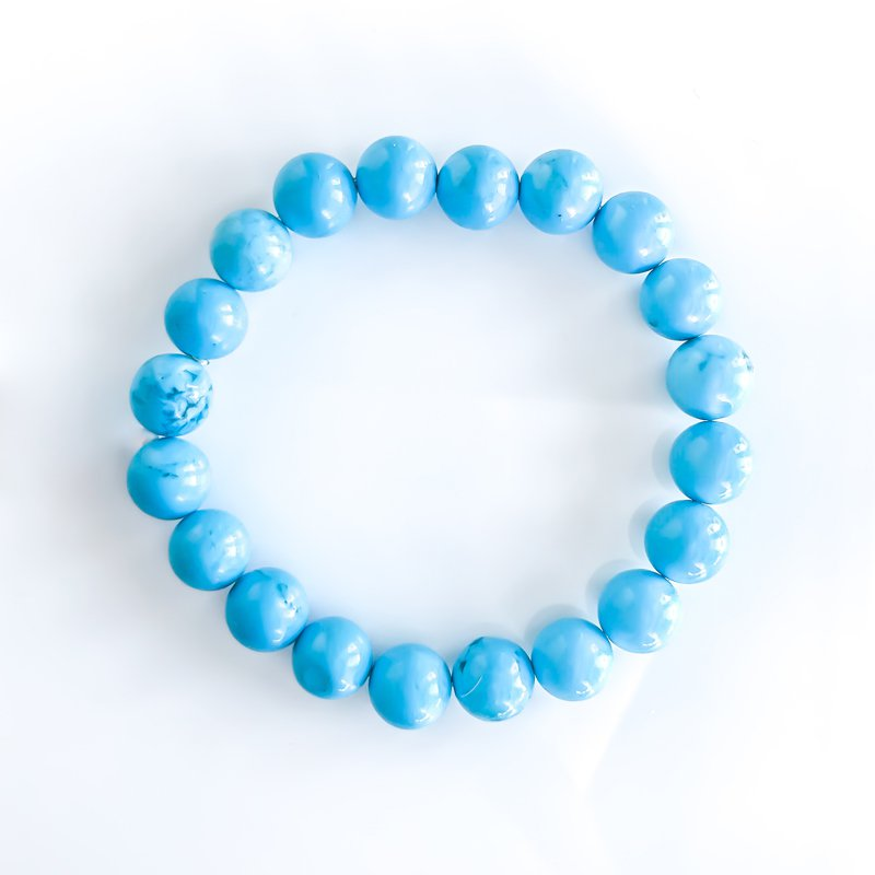 925 Solutions Synthetic Turquoise Stretch Bracelet