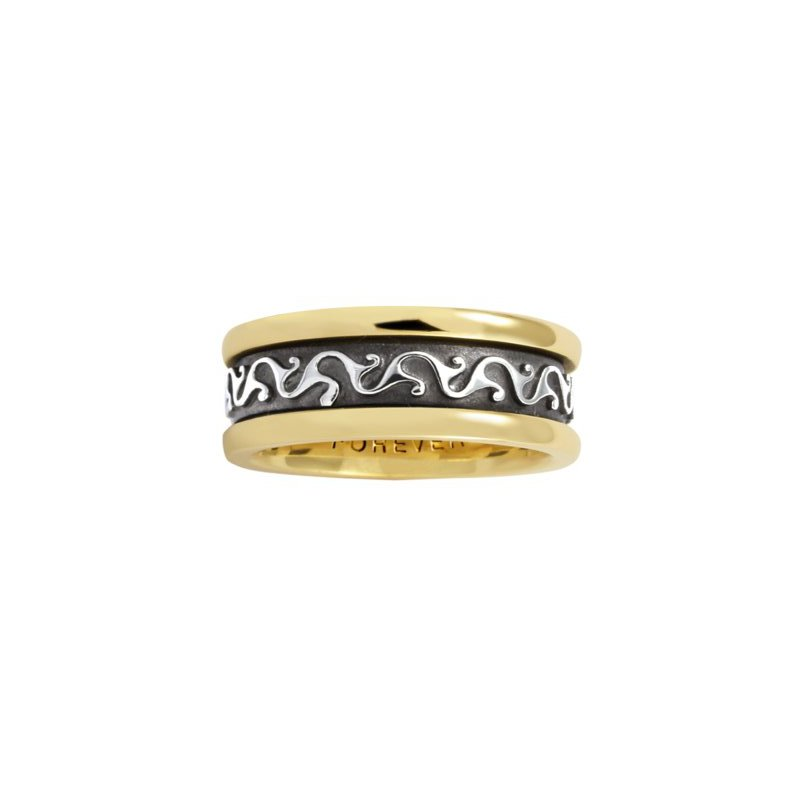 Cadman Manufacturing Co. Celtic 'Scroll' Wedding Band