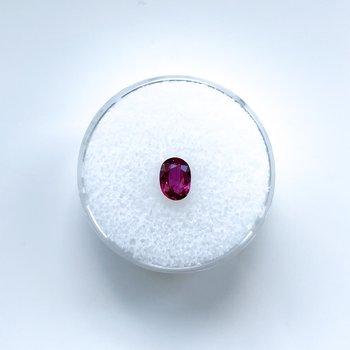 0.75ct Loose Oval Ruby Gemstone