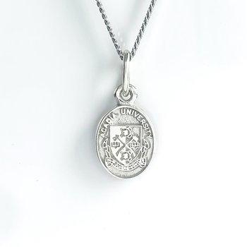 Sterling Silver Acadia Crest (Plain)