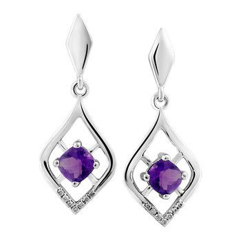 Forever Ice™ Amethyst Earrings
