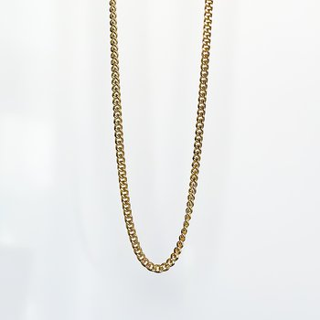 """Yellow Gold Curb Chain (20"""")"""