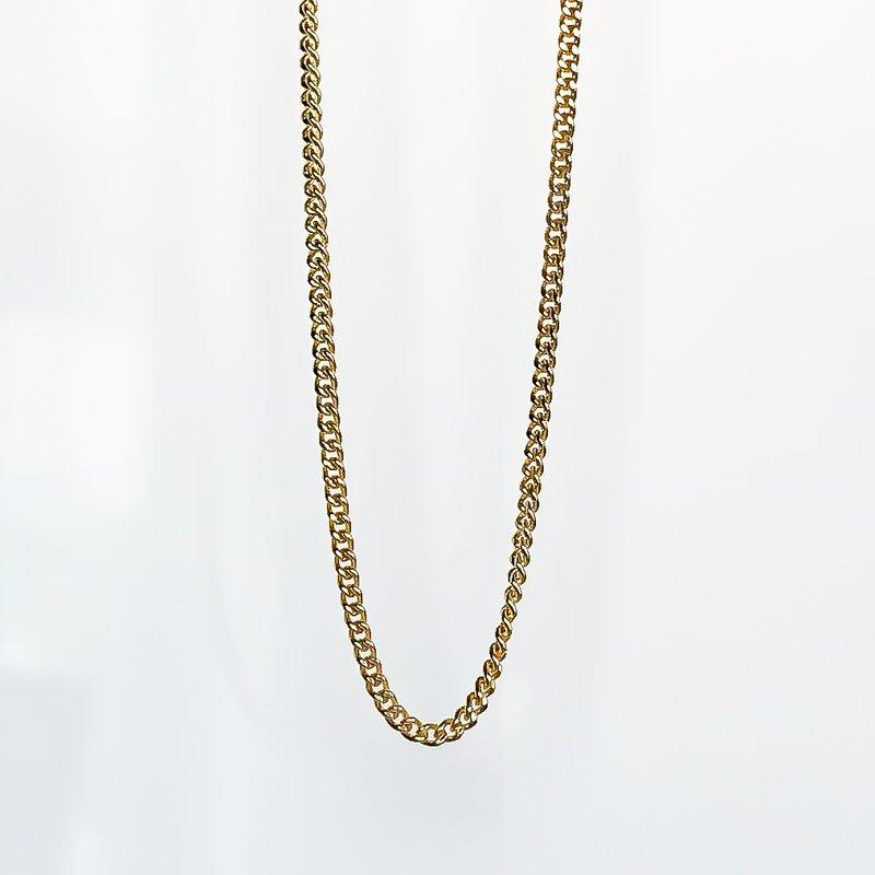 """Tecimer & Johns Yellow Gold Curb Chain (20"""")"""