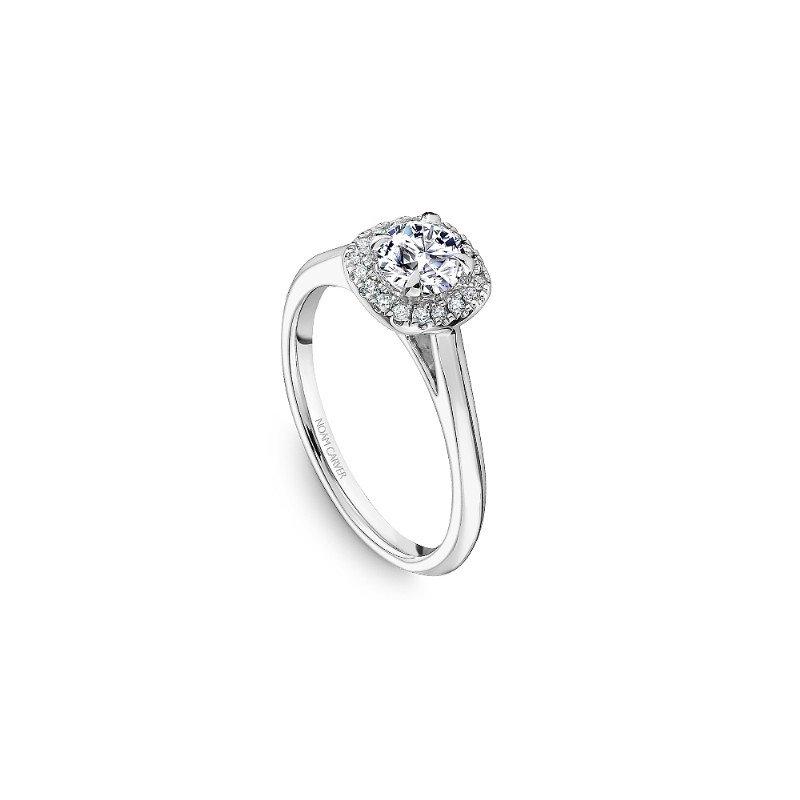 Noam Carver 0.50CT Halo Engagement Ring