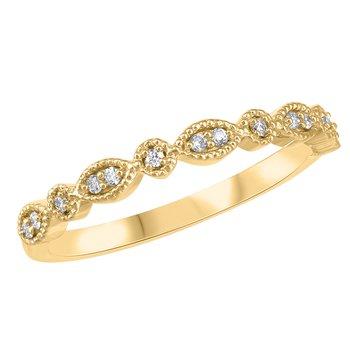 Fancy Yellow Gold Diamond Band