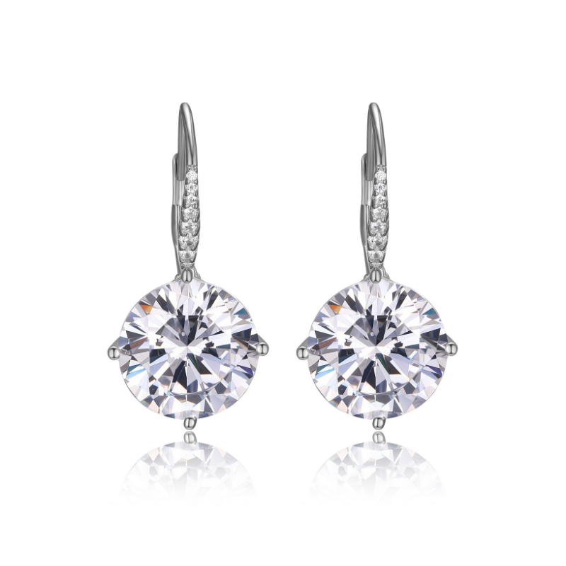 Reign Diamondlite Cubic Zirconia Drop Earrings