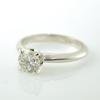 1.04CT Canadian Diamond Solitaire Engagement Ring