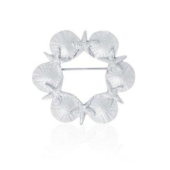 Sea Wreath Pin