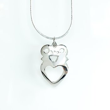 """Crowned Heart Necklace (20"""")"""