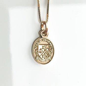 Gold Acadia Crest (Plain)