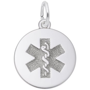 Medic Alert Charm