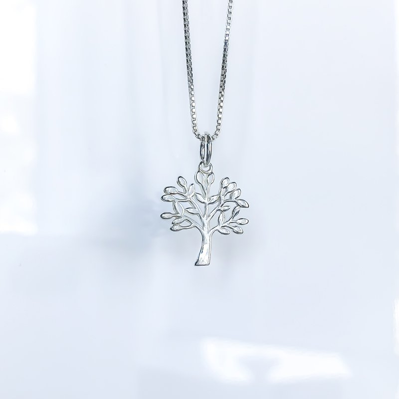 925 Solutions Dainty Tree of Life Necklace