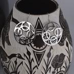 Sapling & Flint Trade Silver Classic Earrings