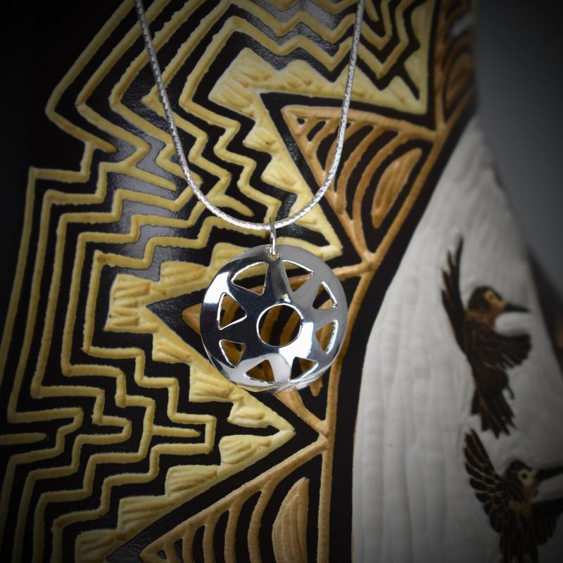 "Sapling & Flint Sun Traditional Necklace (20"")"