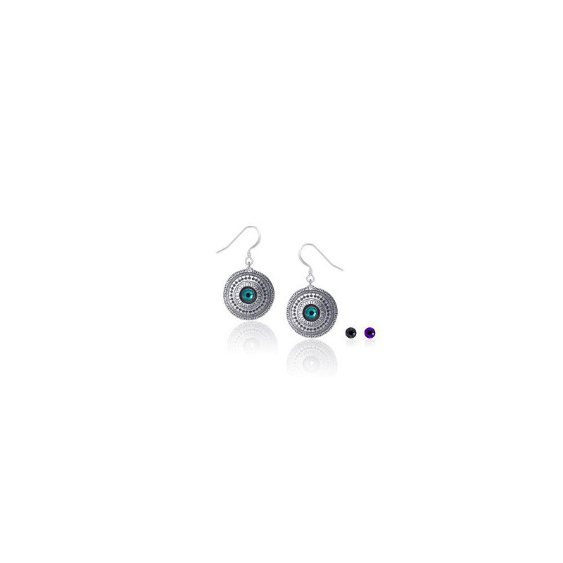 Amos Pewter Radiance Earrings