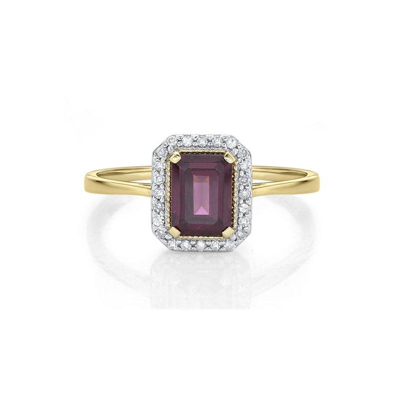 Karat Imports Rhodolite Garnet Ring