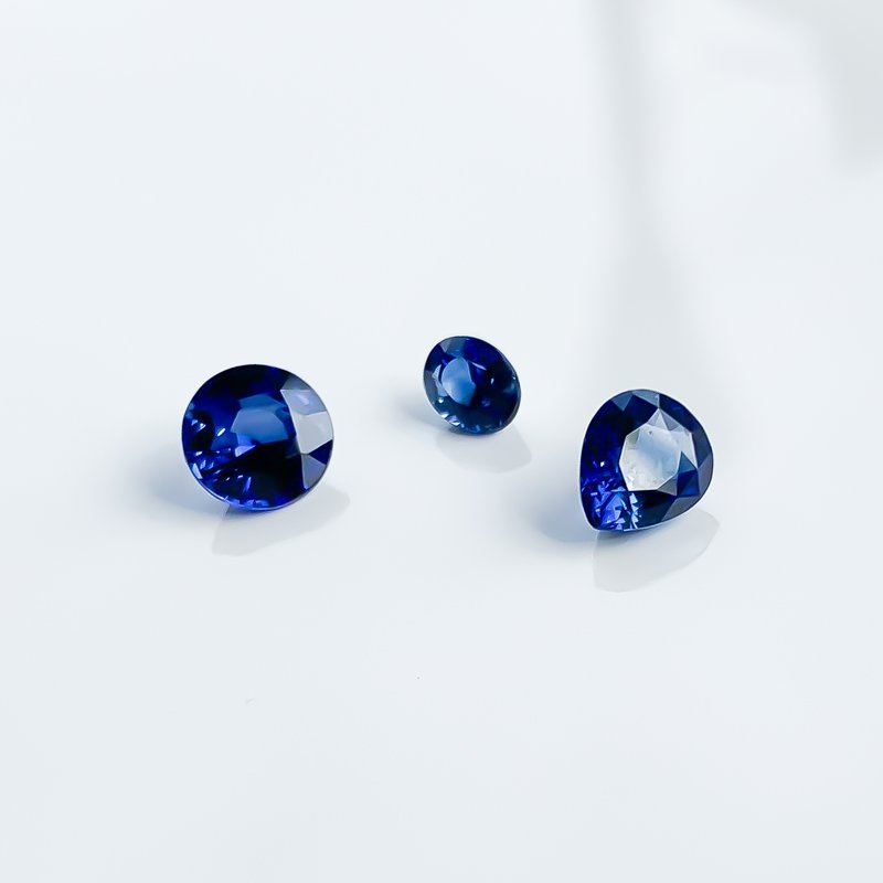 HJ Gemstone Collection 1.26CT Loose Pear Blue Sapphire Gemstone