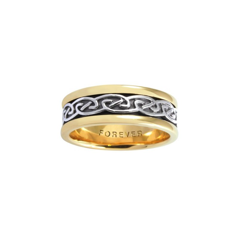 Cadman Manufacturing Co. Celtic 'Spiral' Wedding Band
