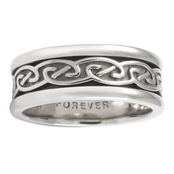 Celtic 'Spiral' Wedding Band