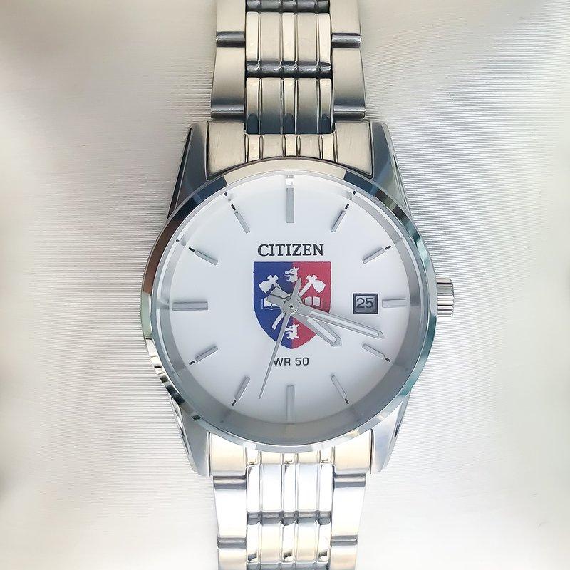 Acadia Jewellery Stainless Steel Acadia Crest Watch
