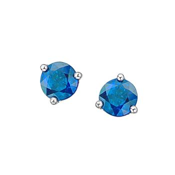 Blue Topaz Birthstone Earrings