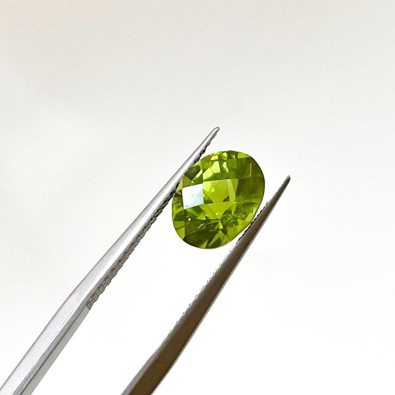 HJ Gemstone Collection 2.33ct Loose Oval Peridot Gemstone
