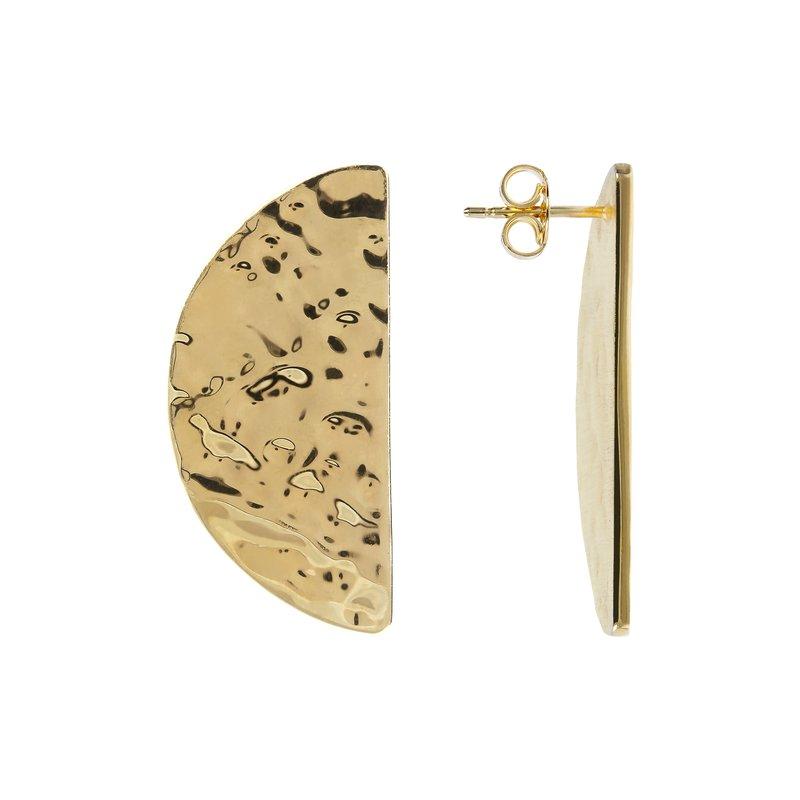 "Etrusca Gioielli Half Moon ""Spicchio"" Earrings"