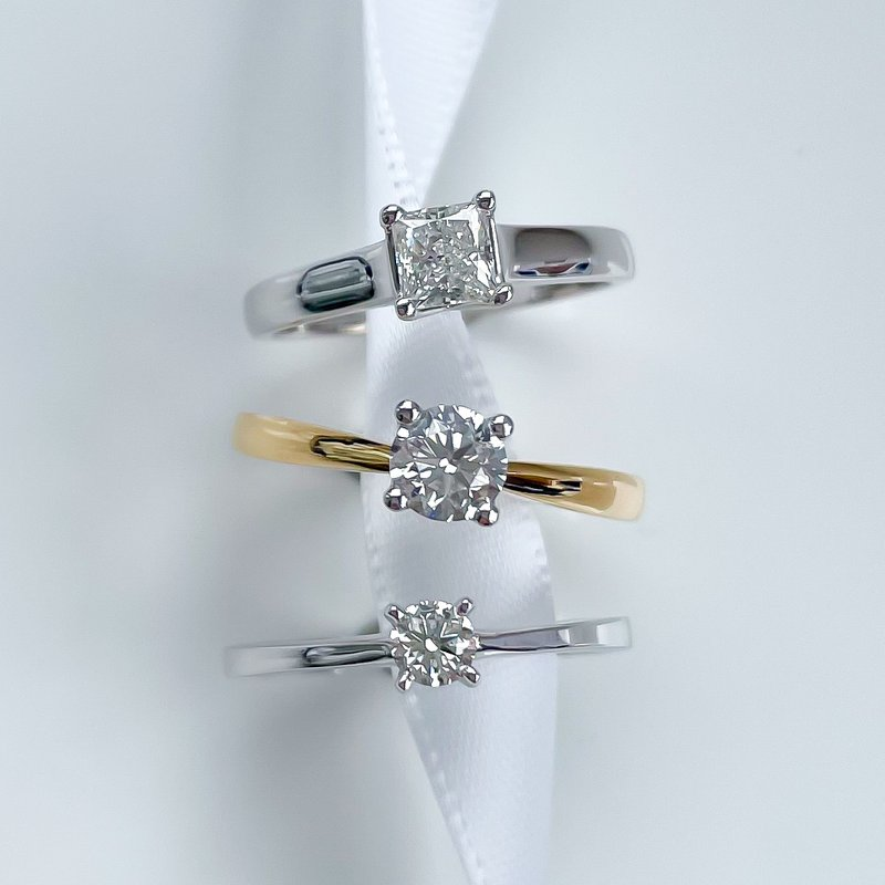 Forever Ice Signature Colourless Collection Solitaire Engagement Ring