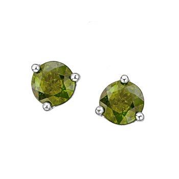 Peridot Birthstone Earrings