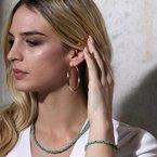 Etrusca Gioielli Classic Hoop Earrings (Large)
