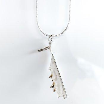 """Moose Antler Necklace (20"""")"""