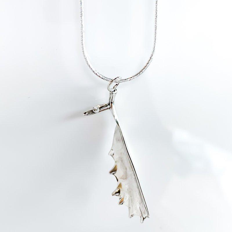 """Sapling & Flint Moose Antler Necklace (20"""")"""