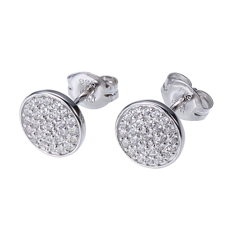 Reign Pave Stud Earrings