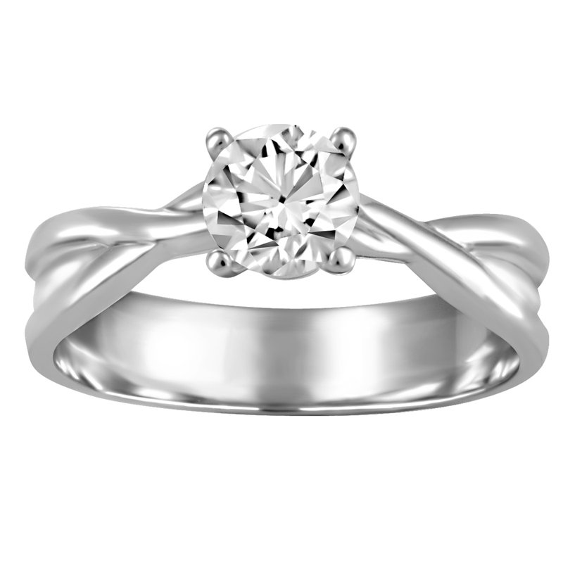 Fire and Ice 0.50CT Canadian Solitaire Engagement Ring