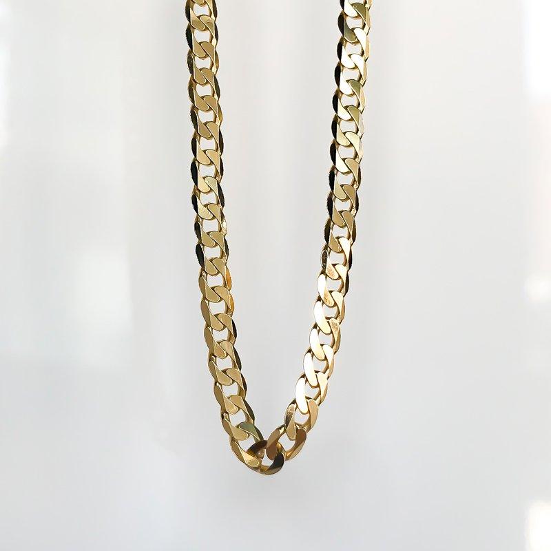 "Tecimer & Johns Yellow Gold Open Link Chain (20"")"
