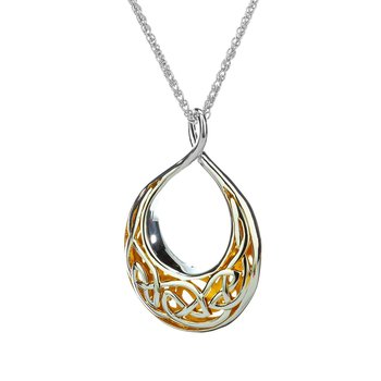 Window to the Soul Teardrop Necklace (Large)