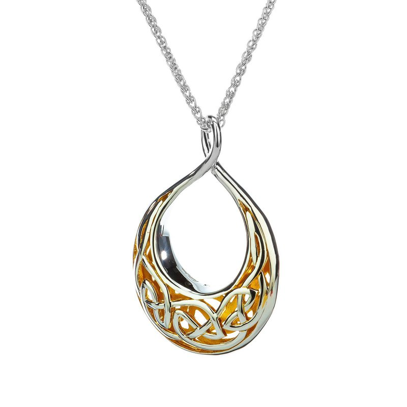 Keith Jack Window to the Soul Teardrop Necklace (Large)