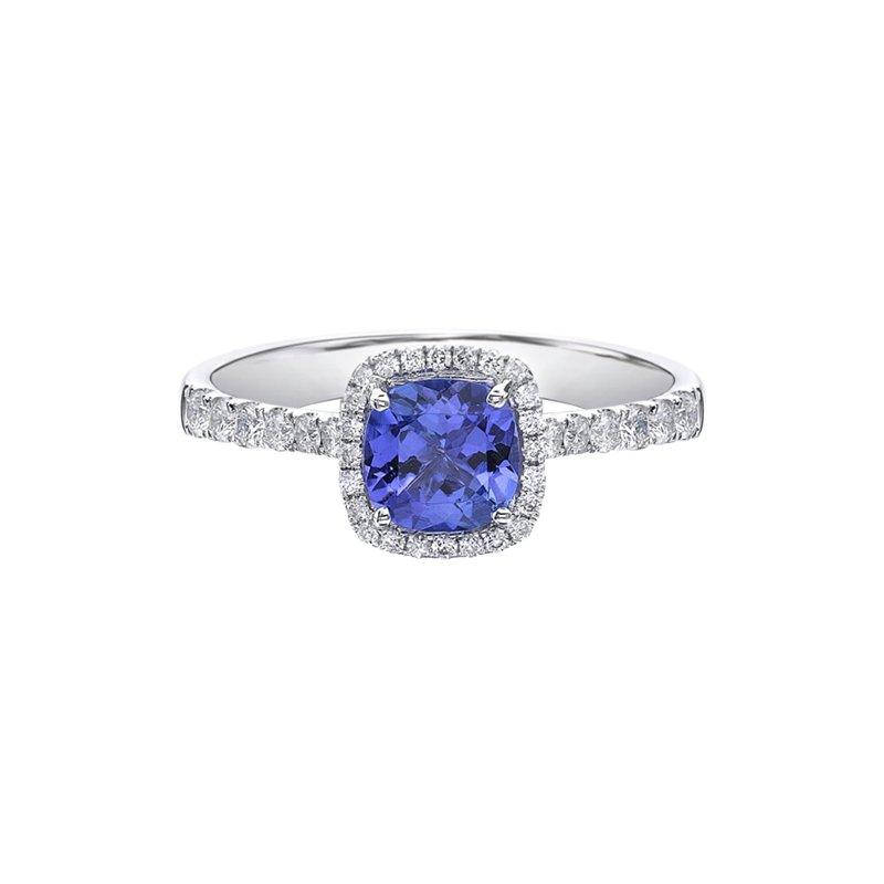Karat Imports Tanzanite & Diamond Ring