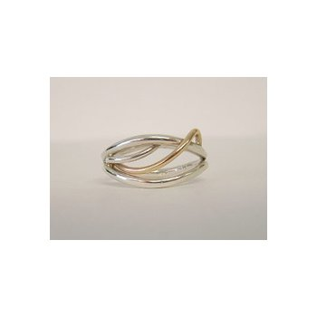 Two-Tone Flame Ring