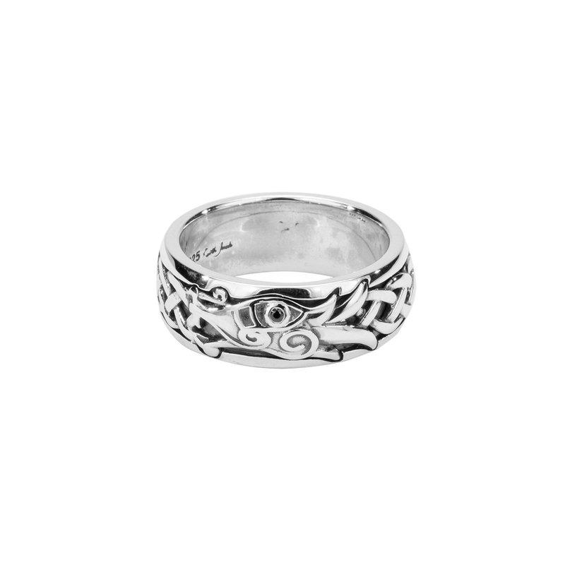 Keith Jack Men's Dragon Ring