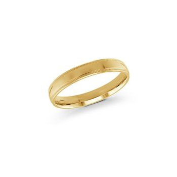 Gold Milgrain Band (3mm)