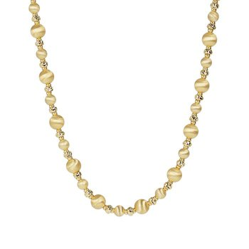 Satin Bead Necklace