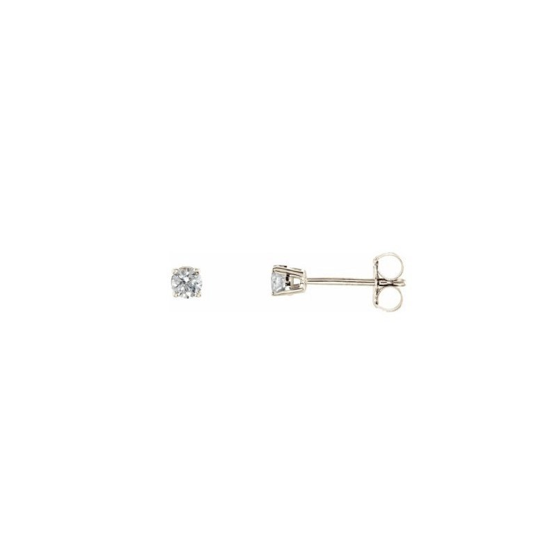Corona Canadian Diamond Stud Earrings