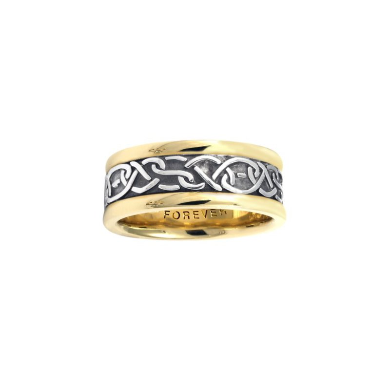 Cadman Manufacturing Co. Celtic 'Double Heart' Wedding Band