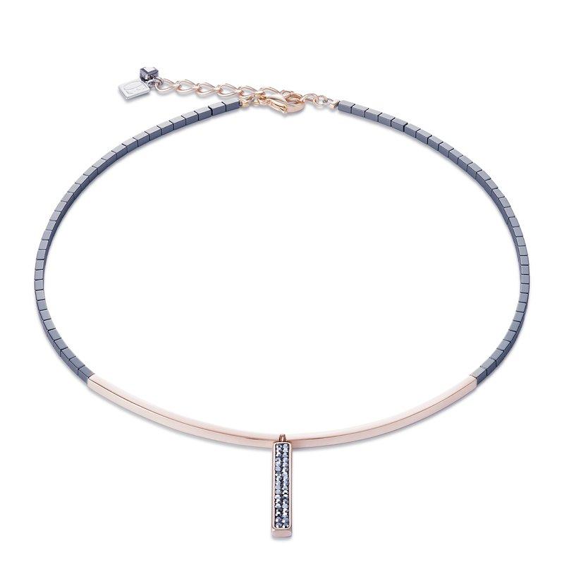 Coeur De Lion Anthracite & Hematite Necklace