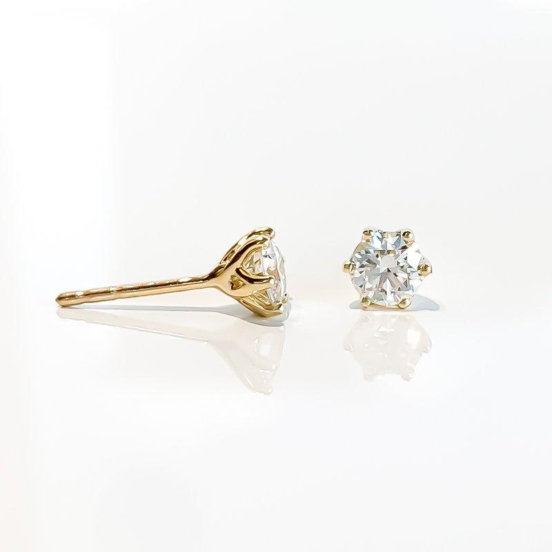 Corona 0.64CT TW Canadian Diamond Stud Earrings