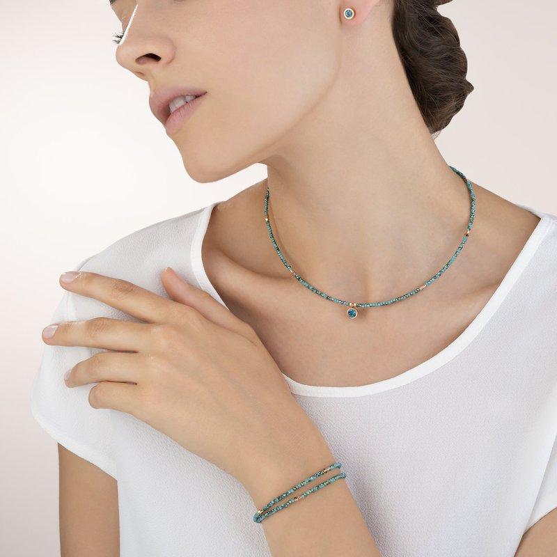 Coeur De Lion Crystal Necklace