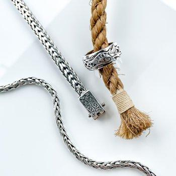 Wheat Linked Bracelet
