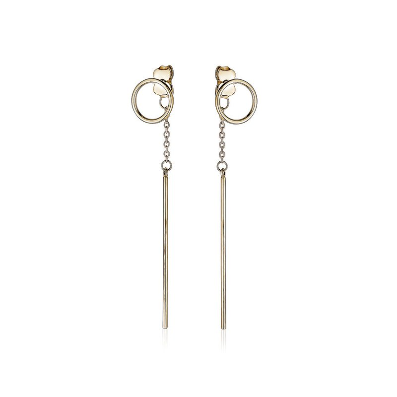 Tecimer & Johns Gold Drop Earrings