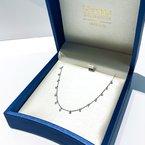 HJ Diamond Collection Diamond Sprinkle Necklace